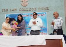 Felicitation of Ms.Parihar