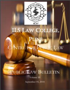 Public Law Bulletin Volume III