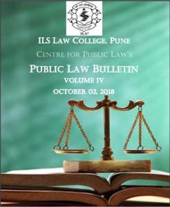 Public Law Bulletin Volume IV