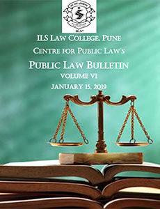 Public Law Bulletin Volume VI