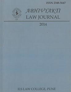 Abhivyakti Law Journal 2014