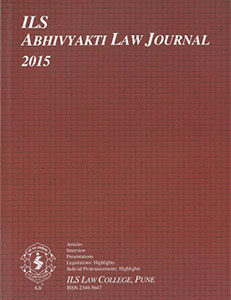 Abhivyakti Law Journal 2015